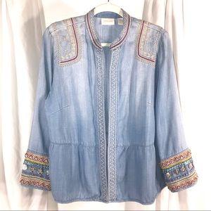 Beautiful Embellished Jacket, size L